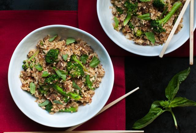 Broccoli fried rice