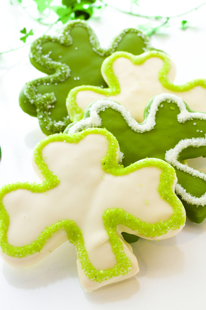 Shamrock biscuits