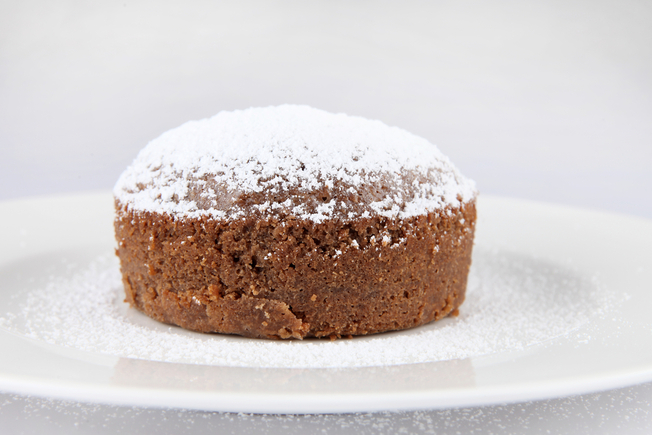 Eggless cocoa cake