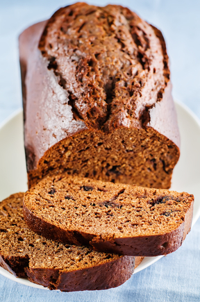 Chocolate and courgette loaf