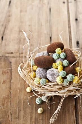 Easter truffles