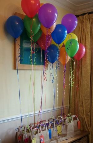 Simple party bag for kids parties