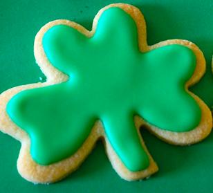 Siúcra's shamrock cookies