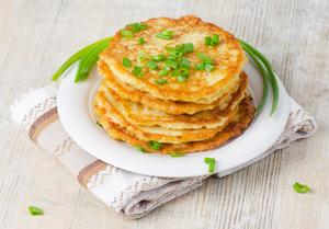 Spring onion cakes