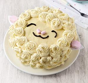 Lamb Easter Cake