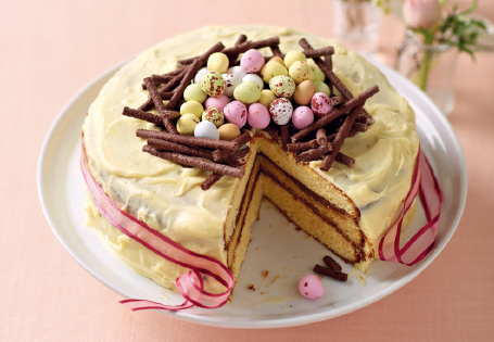 White Chocolate Easter Cake Mummypages Mummypages Ie