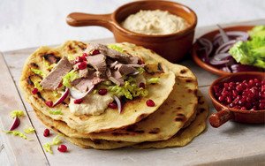 Turkish Lamb Flatbreads