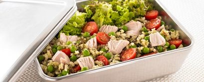John West Tuna, Pesto & Rice Salad