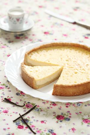 Classic custard tart