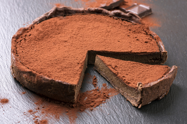Sinless chocolate tart