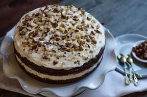 HB Hazelbrook Farm nut sundae cake