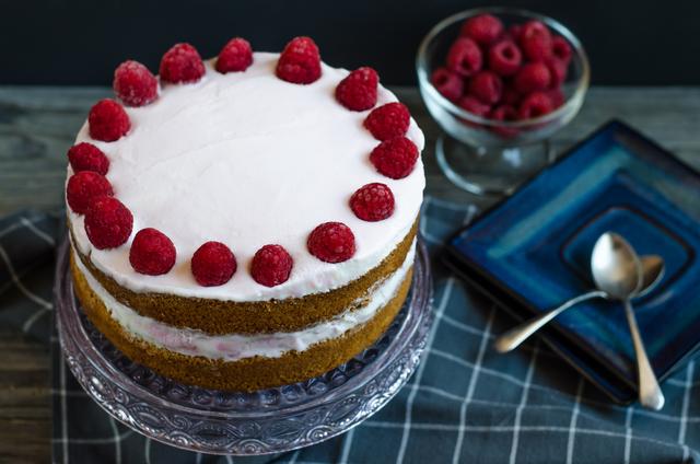 HB Hazelbrook Farm Raspberry Ripple ice cream cake