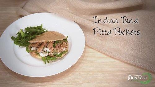 Indian Tuna Pitta Pockets
