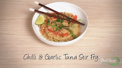 Chilli & Garlic Tuna Stir Fry