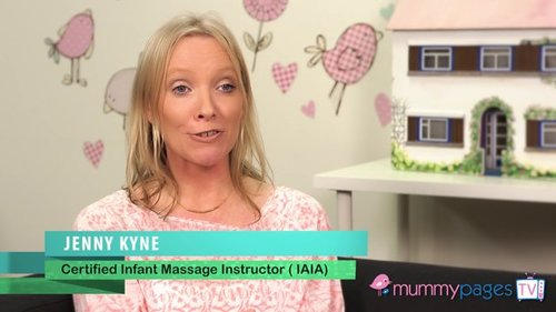 What is involved in a baby massage class?