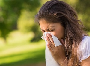 Coping with hay fever