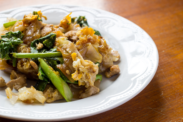 Chicken and kale stir-fry