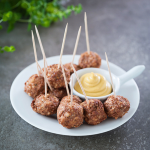 Pork and quinoa meatballs