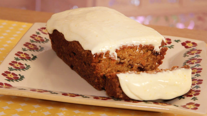 Carrot Cake with Orange Zest Icing