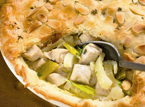 Turkey and Fennel Pie