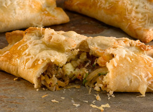 Two Cheese and Onion Pasty