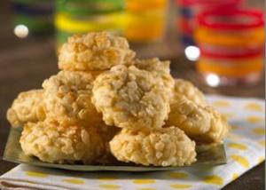 Almond Krispie Biscuits