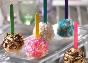 Rice Krispie Treats® on a Stick