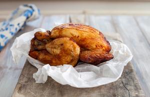 Healthy roast chicken