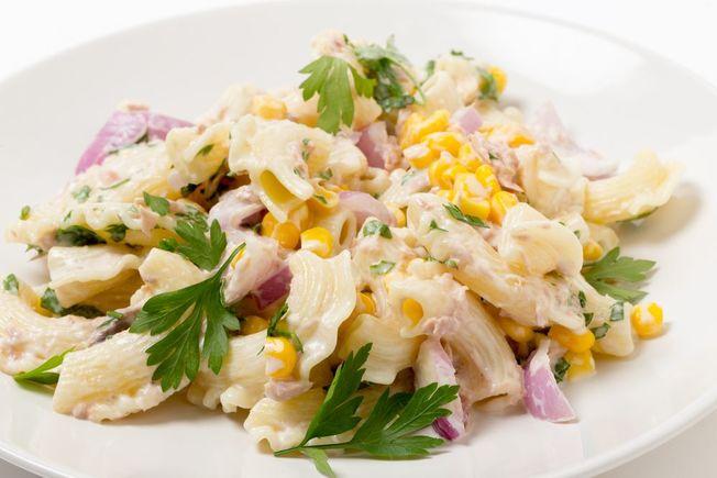 Turkey pasta salad