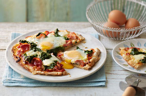 Fiorentina pizza recipe