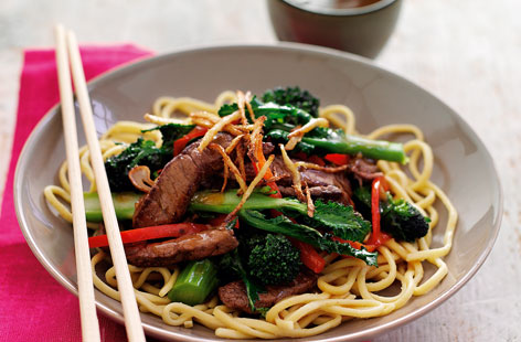 Broccoli and beef stir-fry recipe