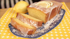 Elderflower and lemon drizzle loaf