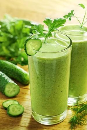 Indigo's green juice