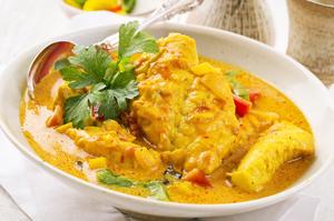 Carribean fish stew
