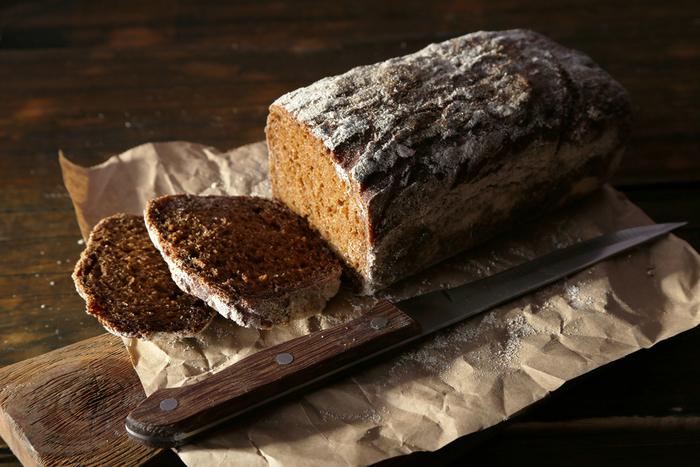 Simple rye bread