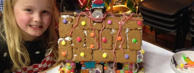 Gingerbread House Family Christmas Workshop