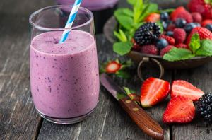 Forest fruits smoothie