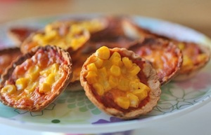 Mummycooks Mini Pizzas: Home-made Mini Pizzas