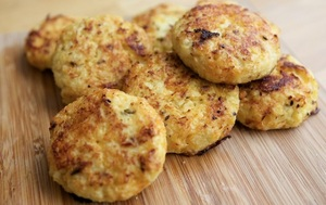 Cauliflower and Cheese Bites