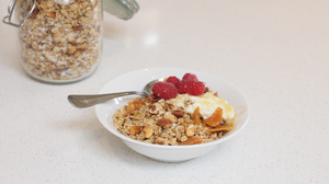 Mango and Coconut Granola