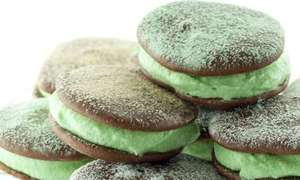 Mint whoopies