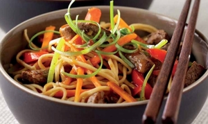 Stir-fried chilli beef
