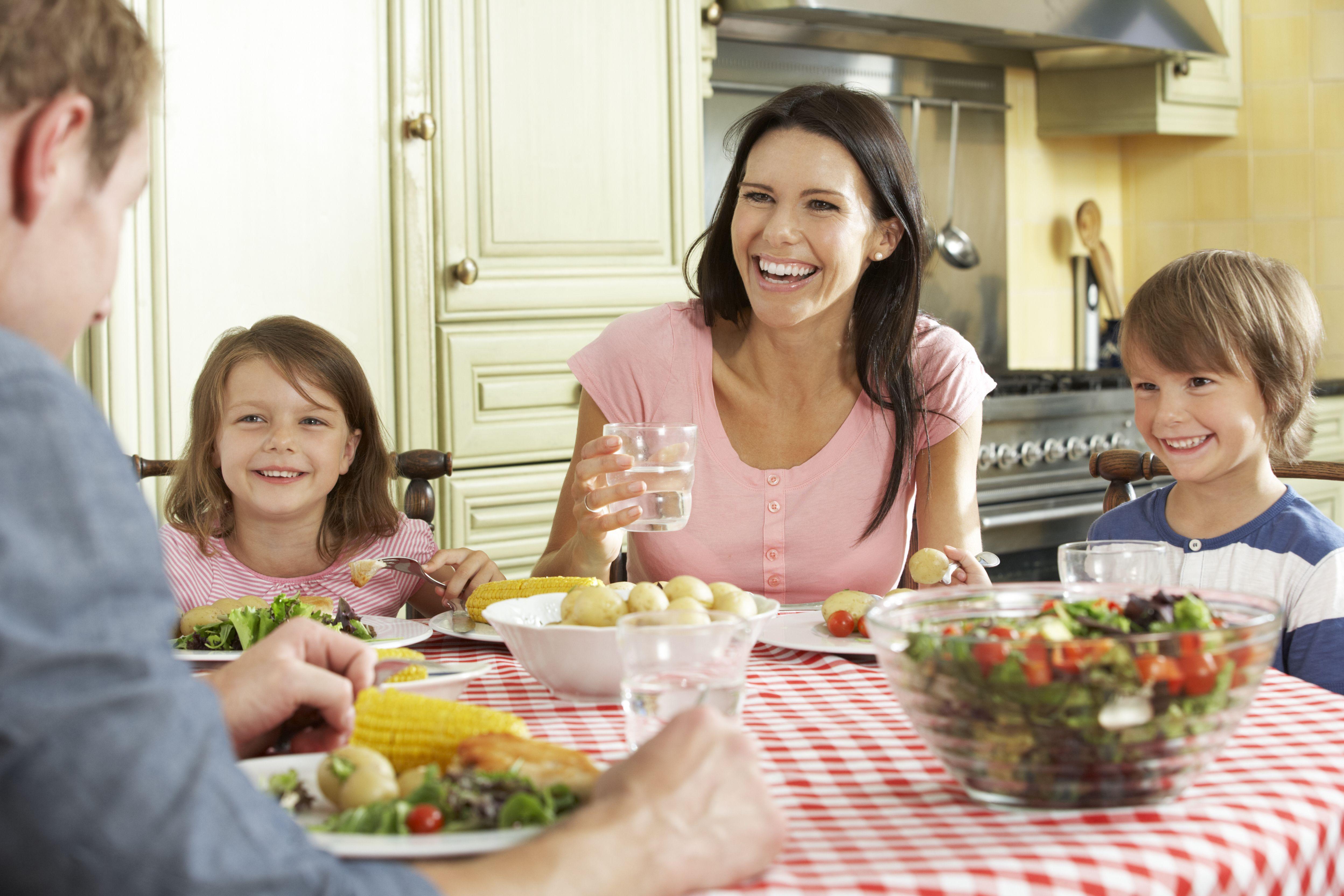 Ужинать дома картинки