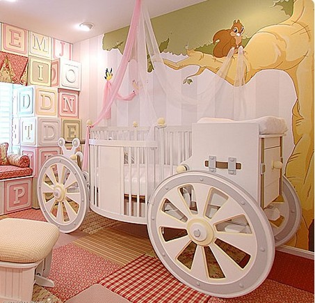 Fantasy Carriage Crib