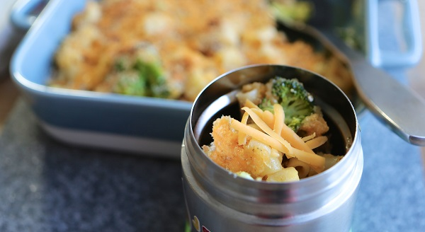 Cheesy Broccoli and Chicken Bake