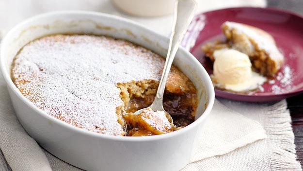 Butterscotch self saucing pudding