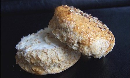 Brown scone