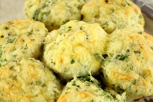 Herb & cheese scones