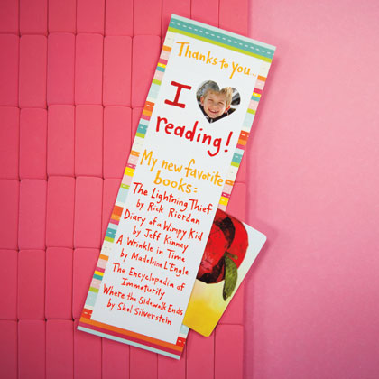 Favourite Reads Photo Bookmark with Book Voucher