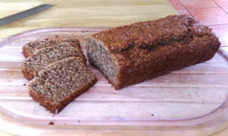 Lemon and cinnamon bread